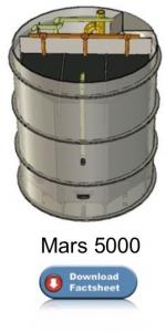 packaged wastewater treatment plant for single houses – Mars 5000