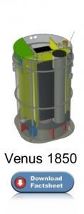 Packaged wastewater treatment plant – Venus 1850