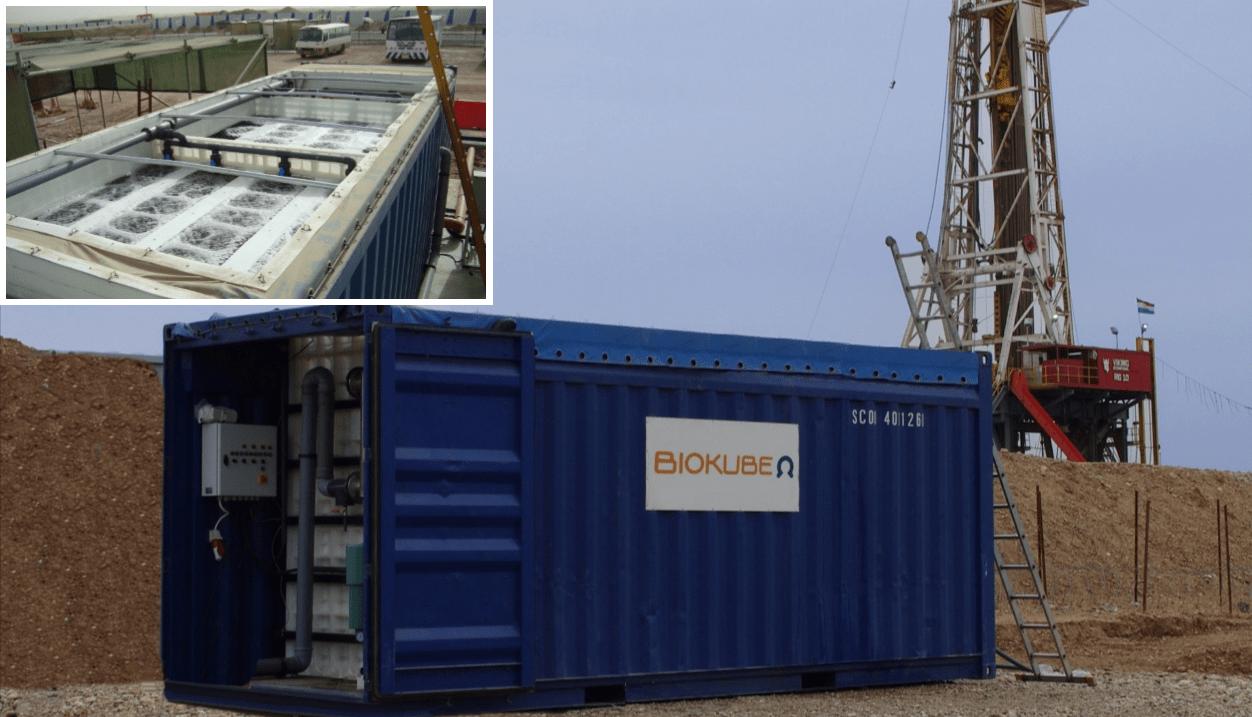 BioContainer stp Oil field