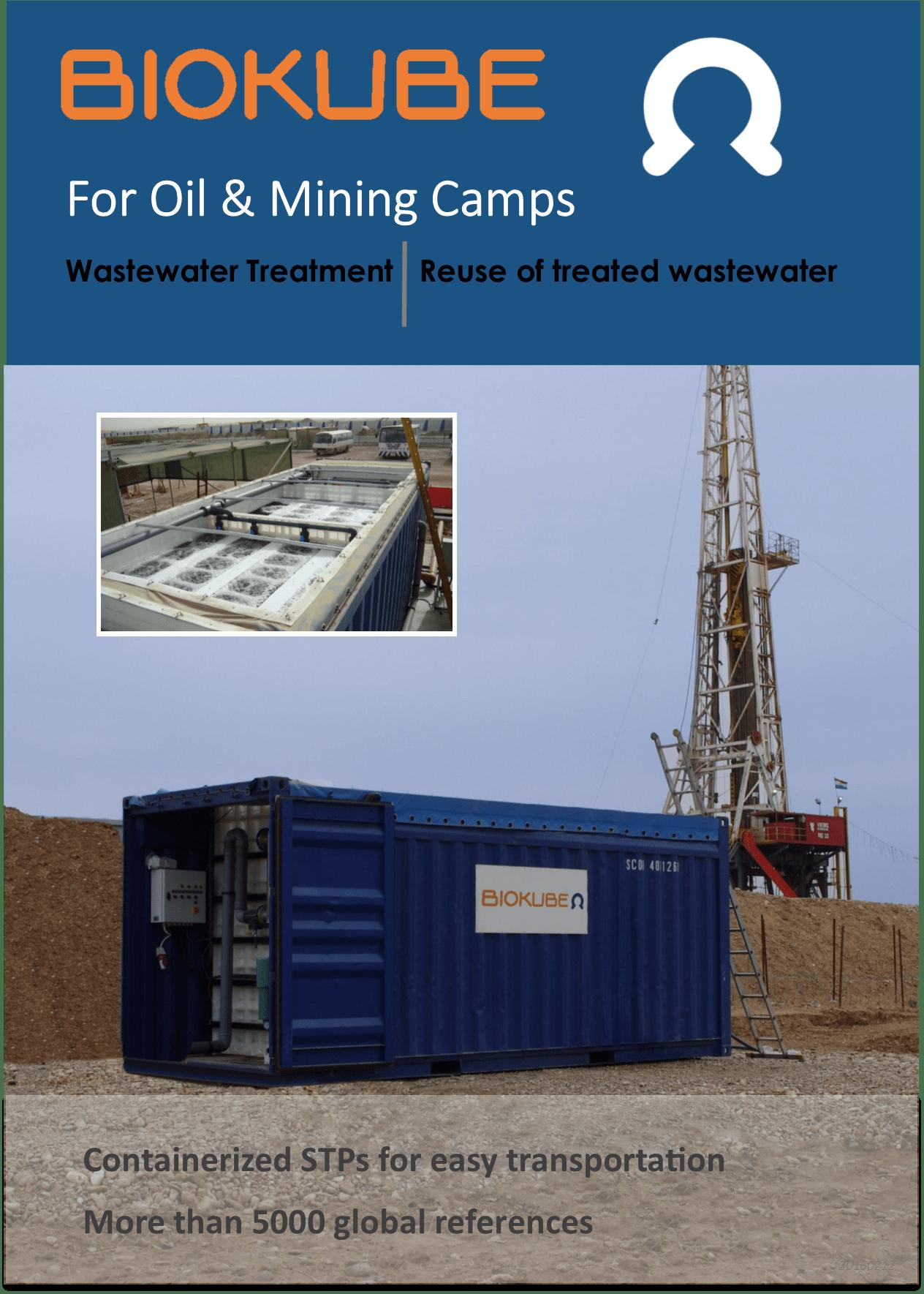 Biokube oil and mining brochure