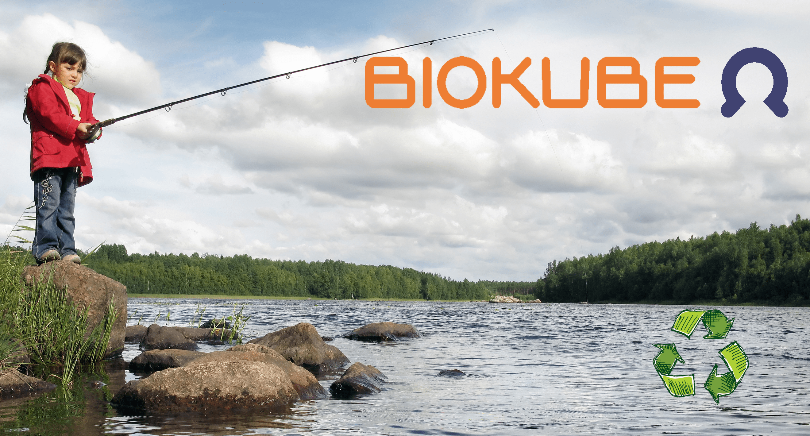 Biokube reuse of wastewater