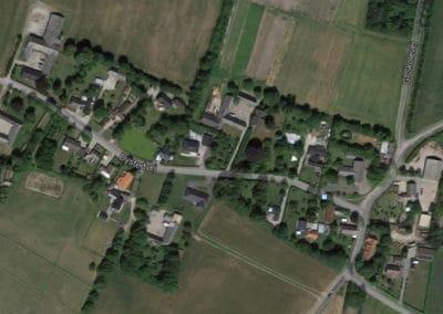 Jupiter at village in Denmark