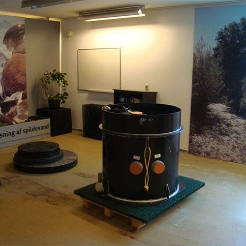 Biokube show room in Denmark