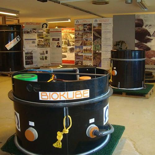 Biokube show room
