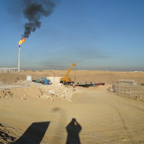 BioKube wastewater treatment system installed at an oil camp in Yemen