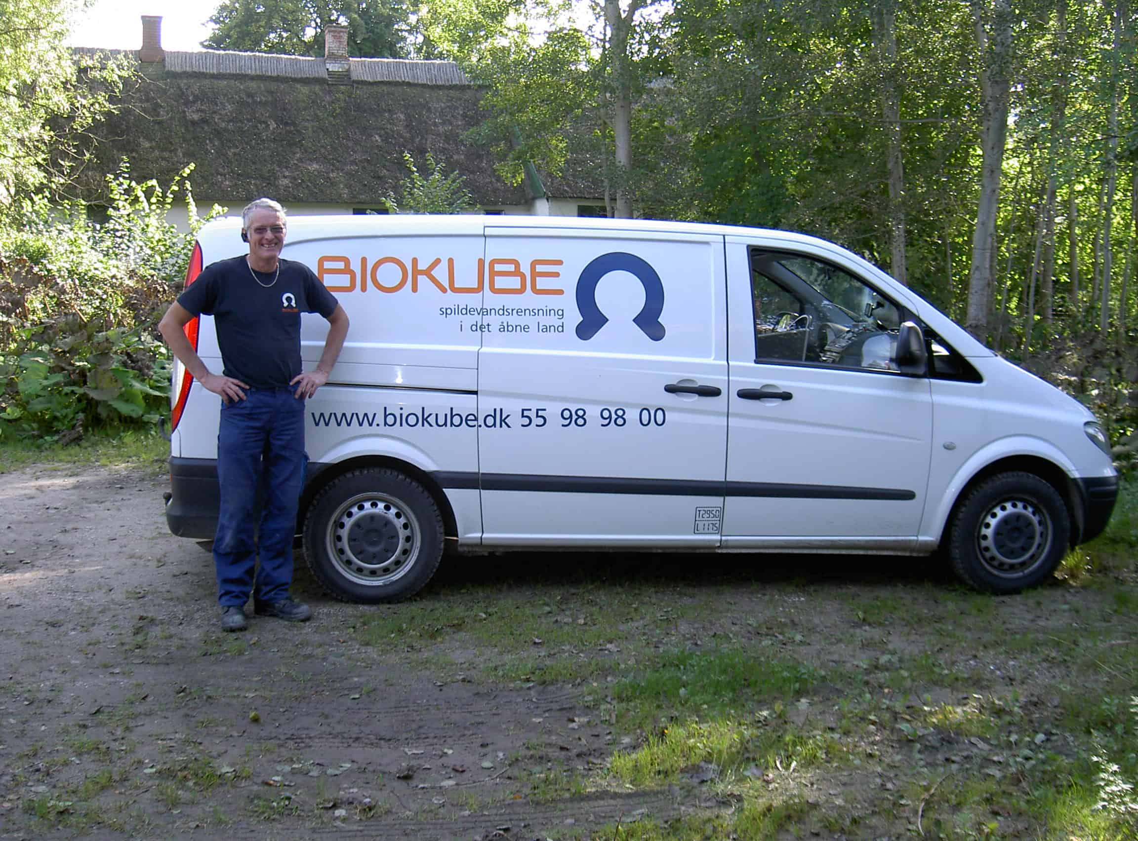 One of BioKubes highly skilled servicetechnicians