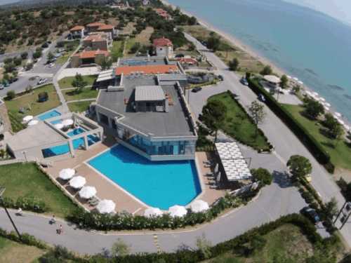 BioKube sewage treatment plant installed at hotel Krotiri in Greece