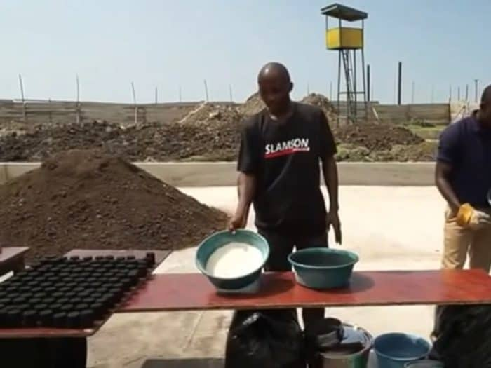 Sludge from a BioKube wastewater system can be converted to charcoal