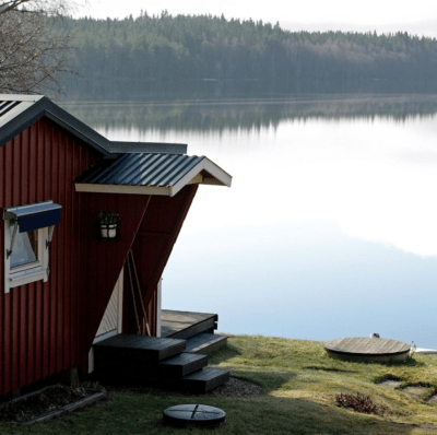 BioKube wastewater systems are uniquely suited for summerhouses due to BioKubes international patents and ETV Environmental Technology Verification