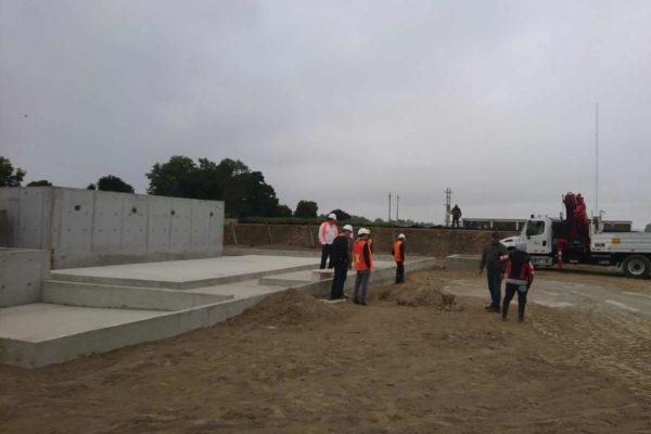 BioKube wastewater system at asparagus factory in Peru