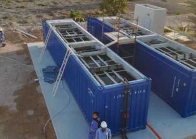 BioContainer in Oman – water reused