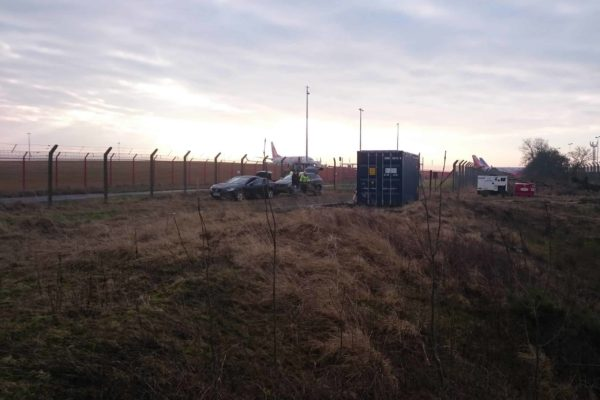 BioContainer at Newcastle Airport - 2