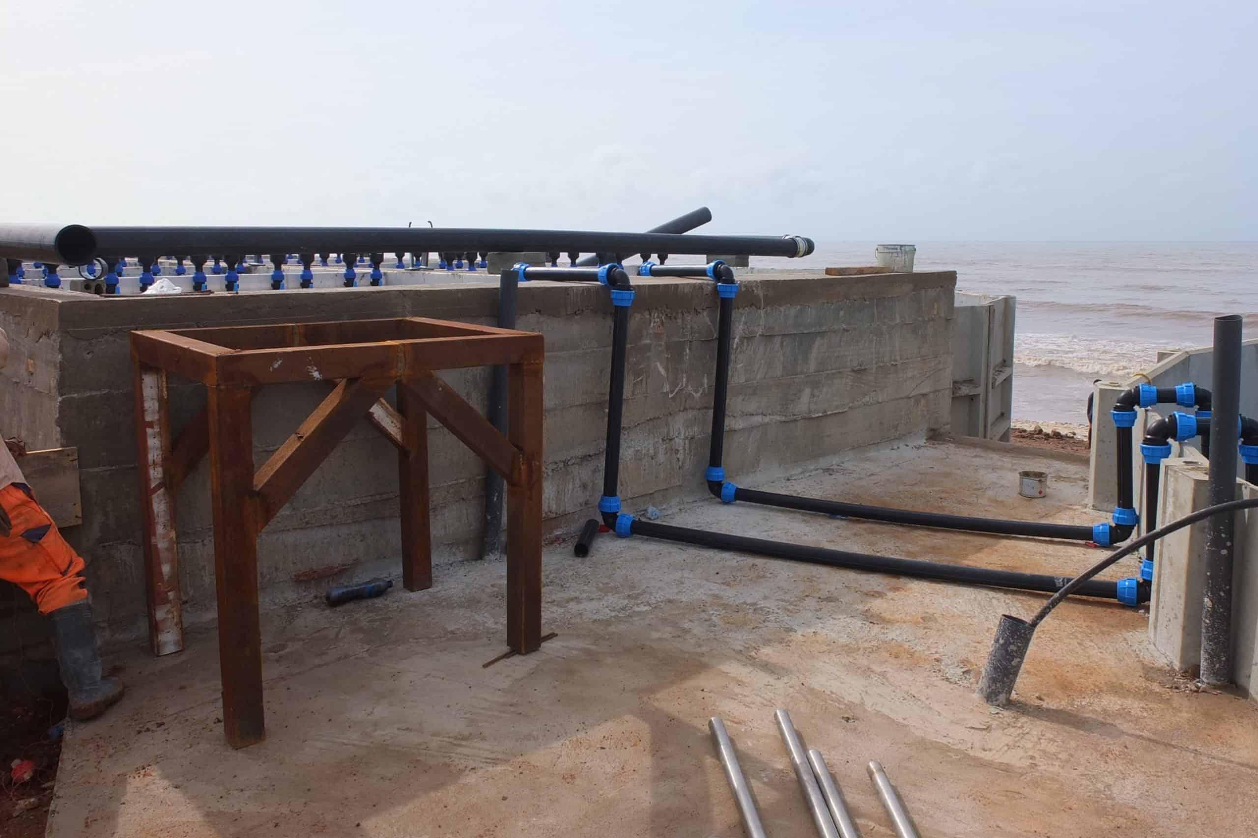 BioKube wastewater system Lavender Hill Ghana - 1