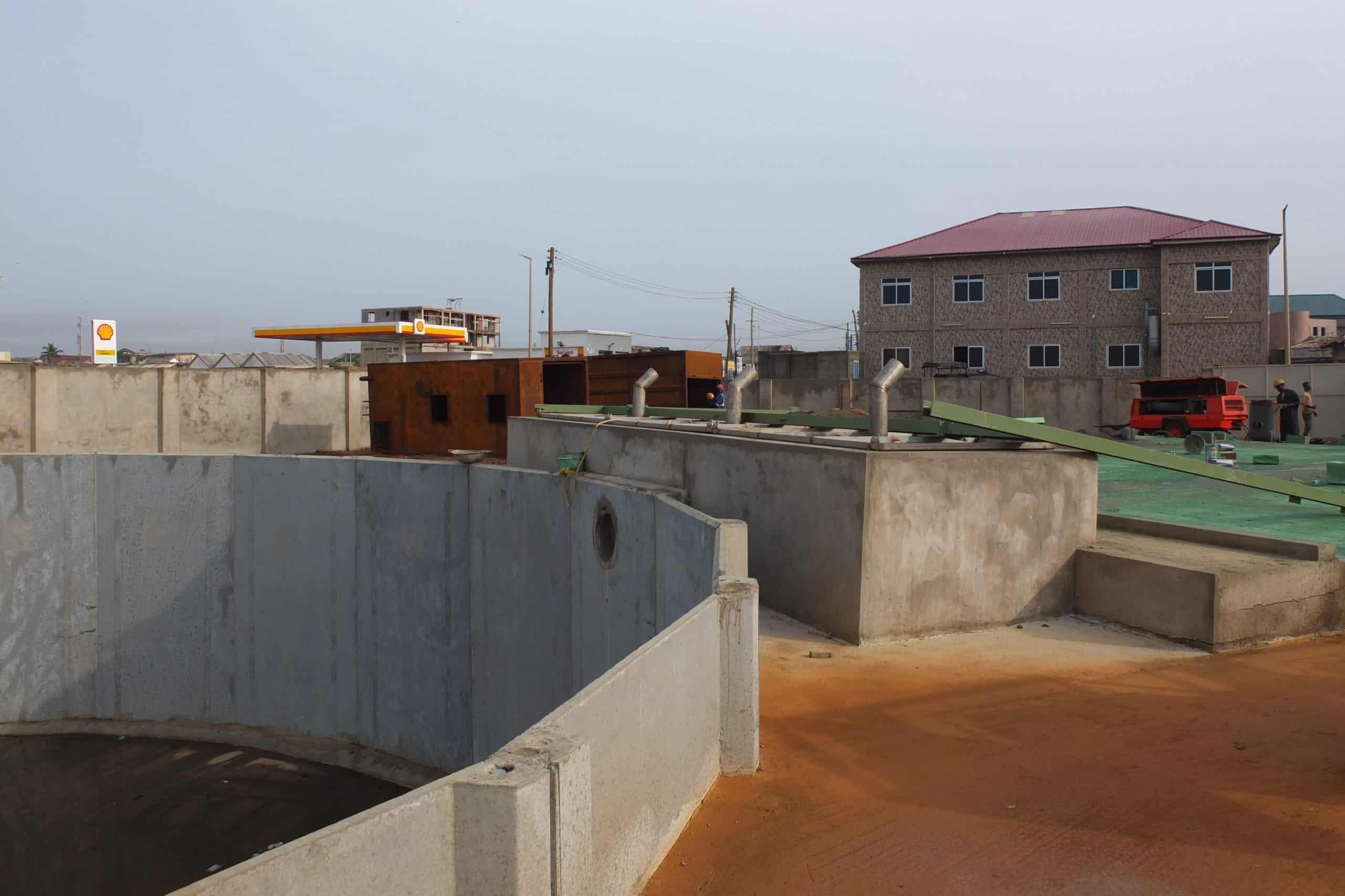 BioKube wastewater system Lavender Hill Ghana - 2
