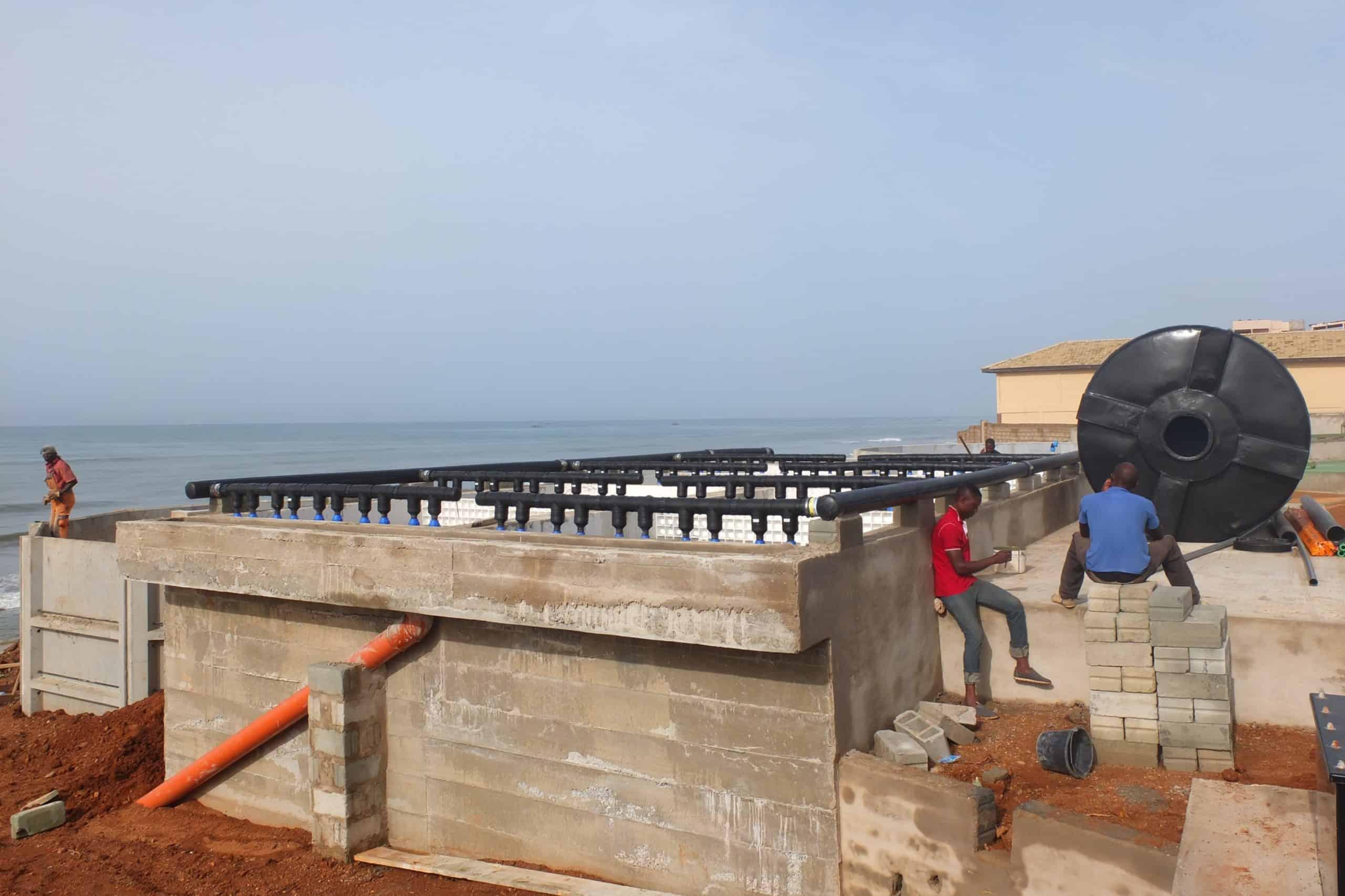 BioKube wastewater system Lavender Hill Ghana - 3