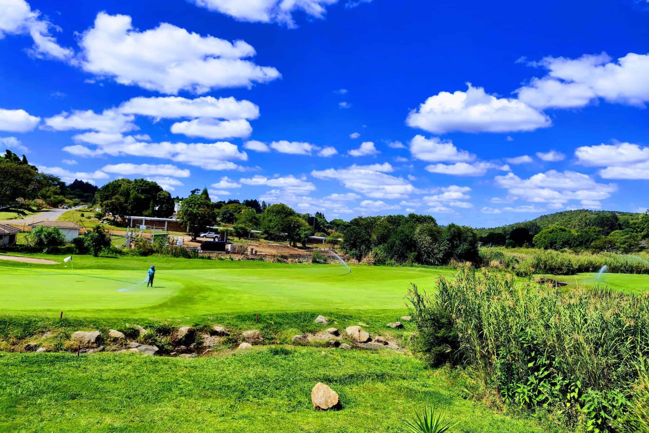 BioReactor at golf course 10