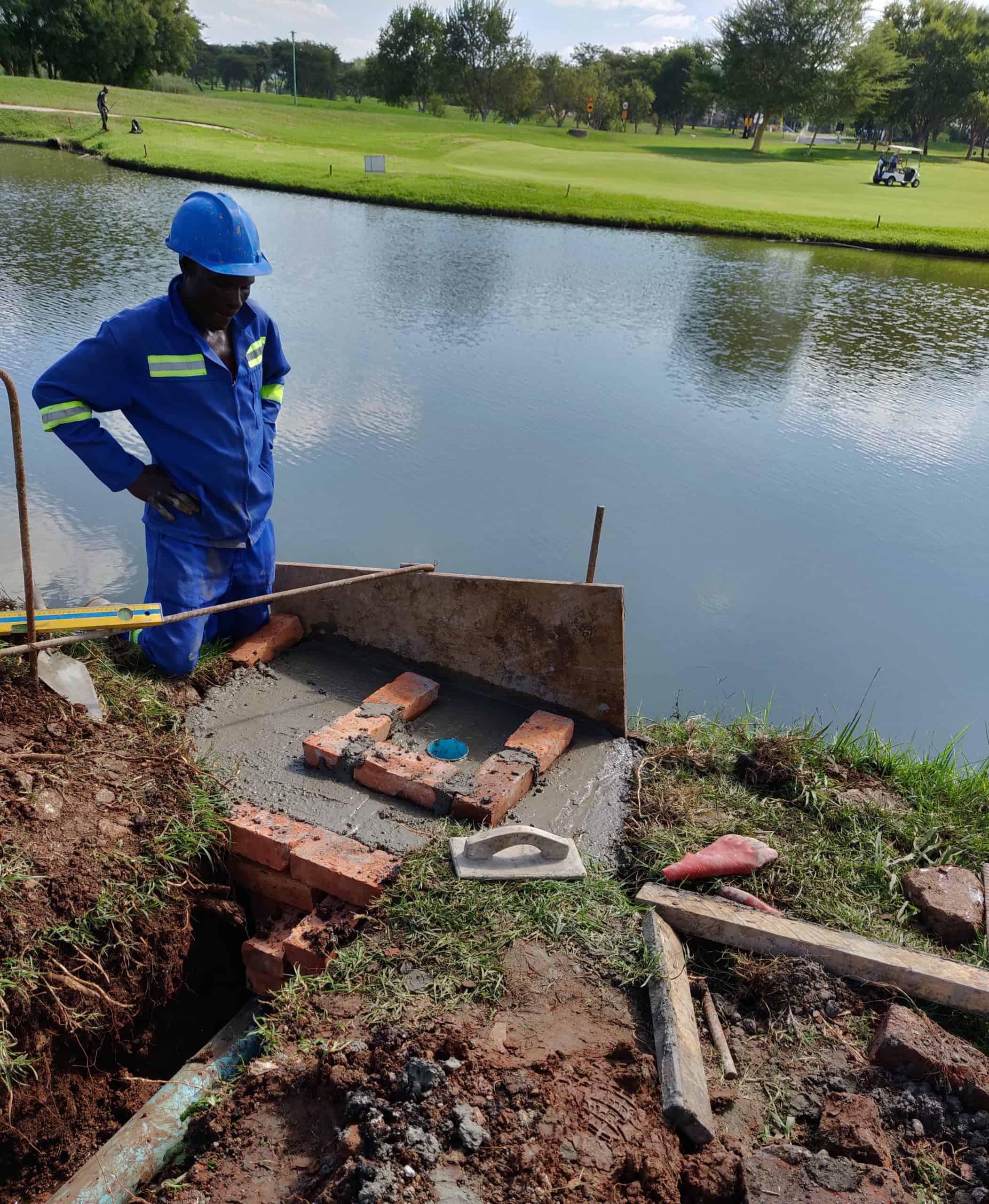 BioReactor at golf course 7