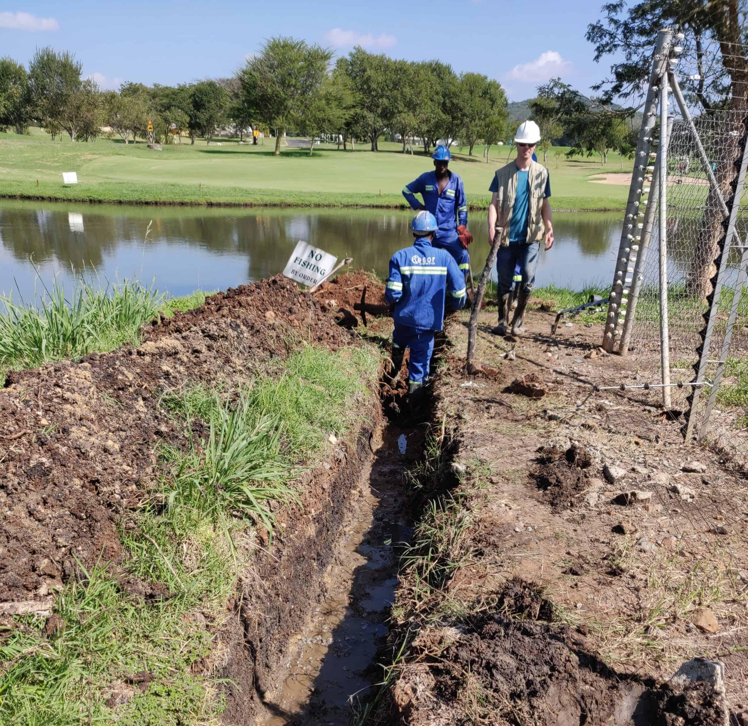 BioReactor at golf course 8