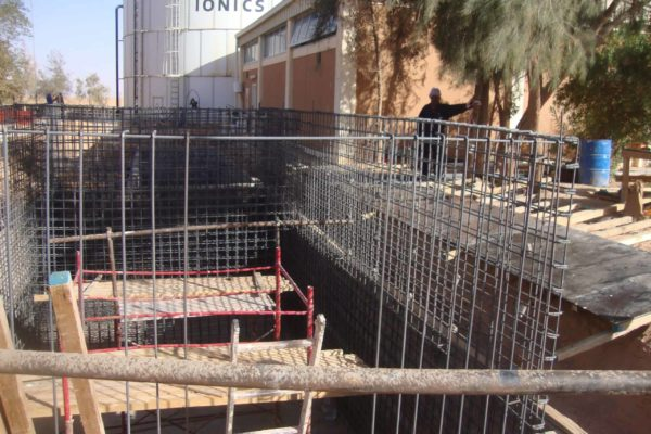 Bioreactor Libya under construction 1