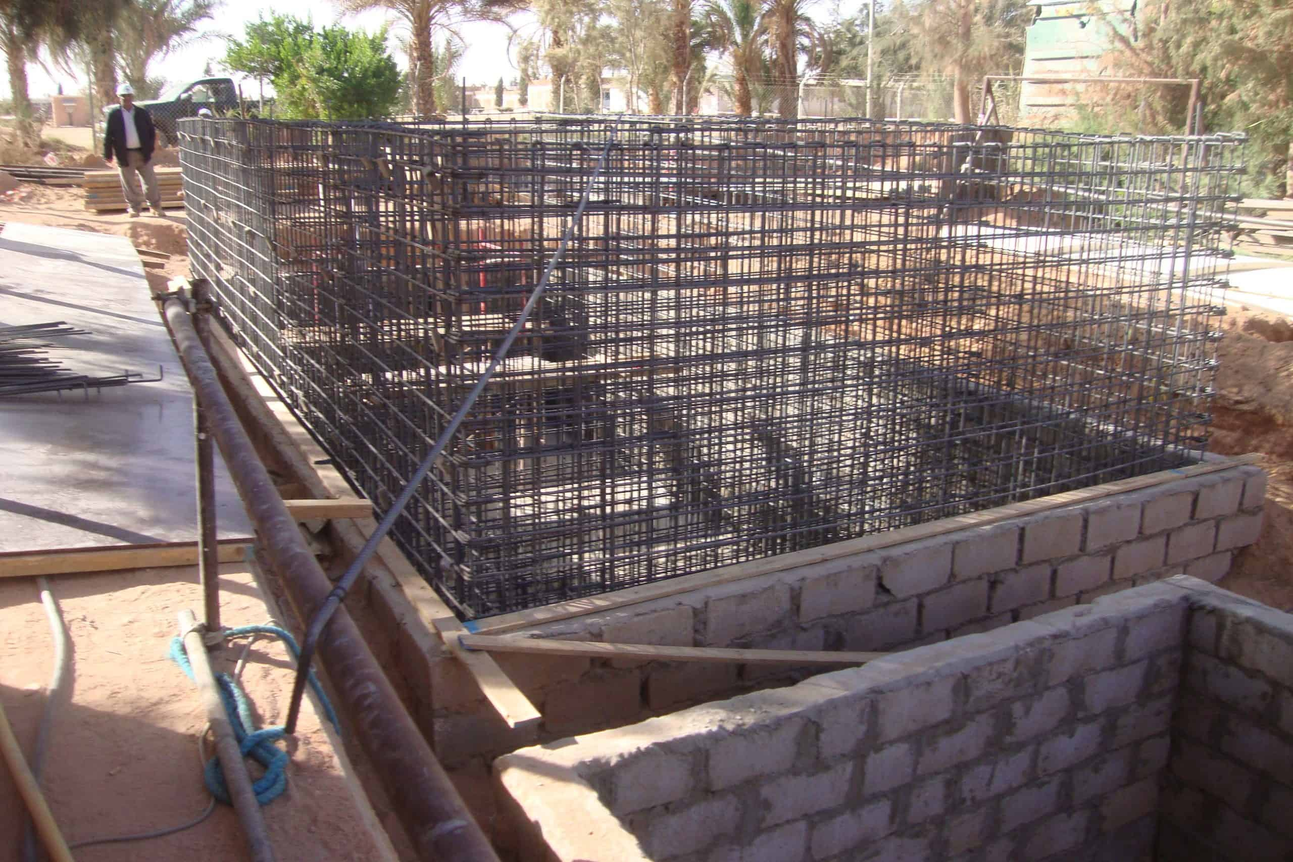 Bioreactor Libya under construction 2