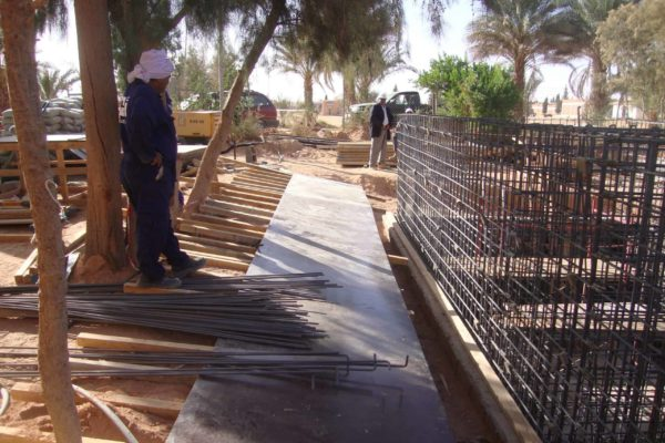 Bioreactor Libya under construction 4