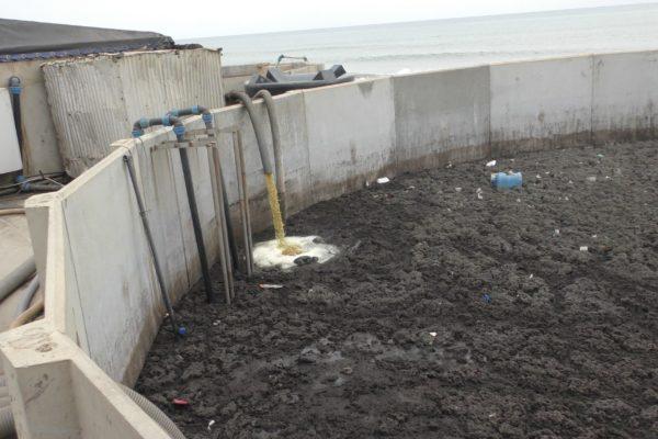 Buffertank at BioKube system at Lavender Hill Ghana - 1