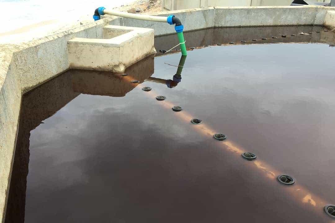 Clarifier BioKube system at Lavender Hill Ghana