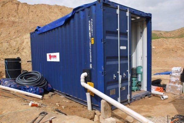 BioContainer wastewater system at oilfield in Iraq - 3