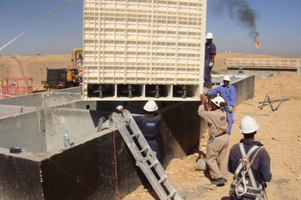 BioReactor at oilfield in Yemen for TOTAL - 1