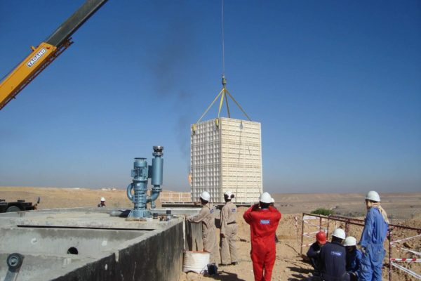 BioReactor at oilfield in Yemen for TOTAL - 6
