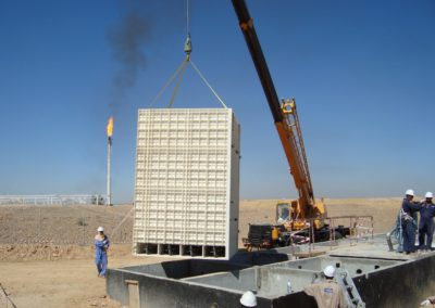 BioReactor at oilfield in Yemen