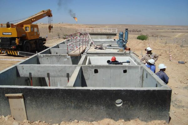BioReactor at oilfield in Yemen for TOTAL - 8