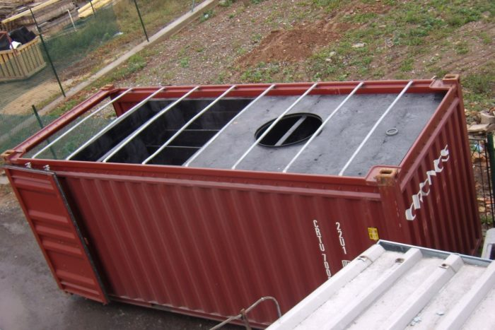 BioKube BioContainer 20 foot for Libya