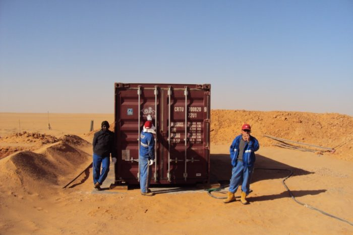 BioKube BioContainer 20 foot wastewater system for Libya - 3