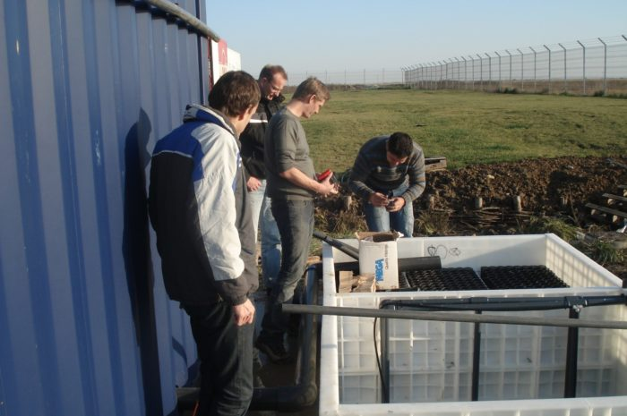 BioKube BioContainer wastewater system at ice factory in Romania -10