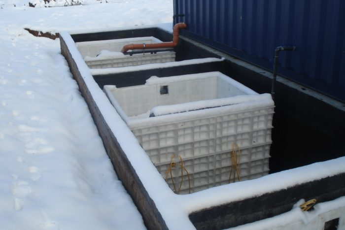 BioKube BioContainer wastewater system at ice factory in Romania -6