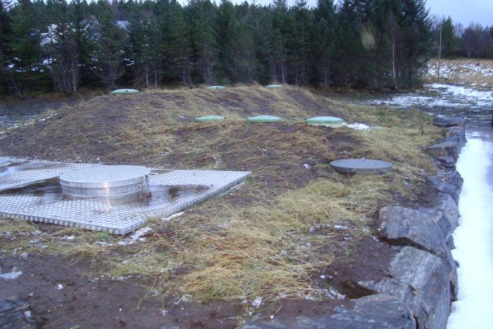 BioKube Jupiter wastewater system for cold area Norway