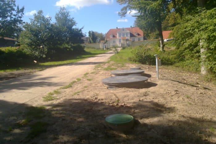 BioKube Mars wastewater system new installation Mariata Denmark