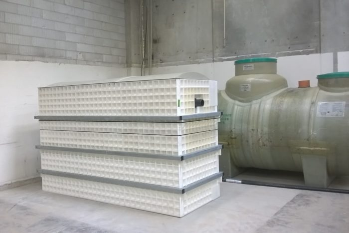 BioKube wastewater system at car rust protection facility Denmark -6