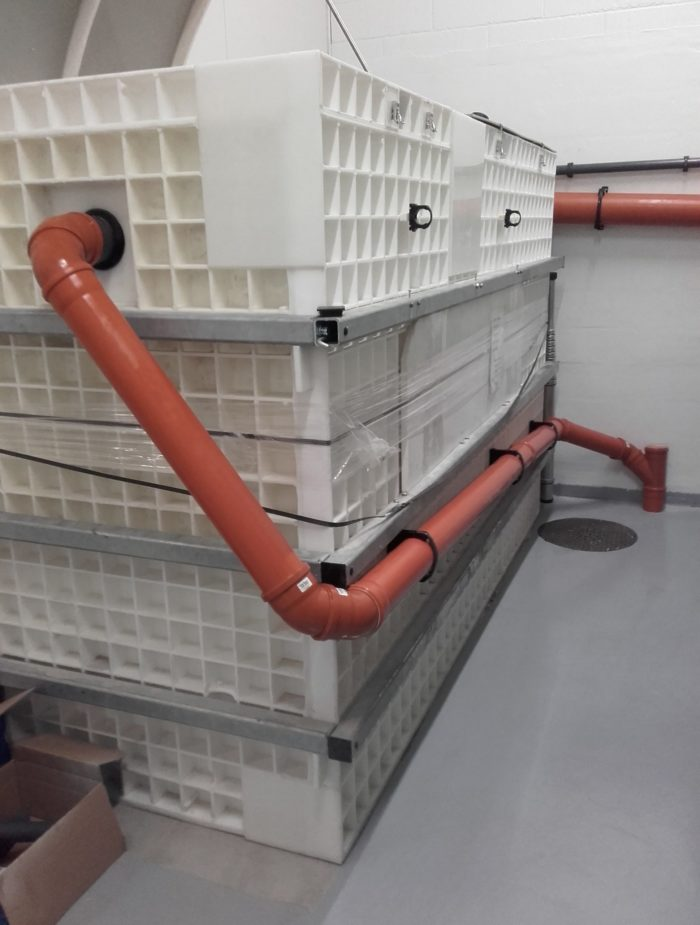 BioKube wastewater system at car rust protection facility Denmark