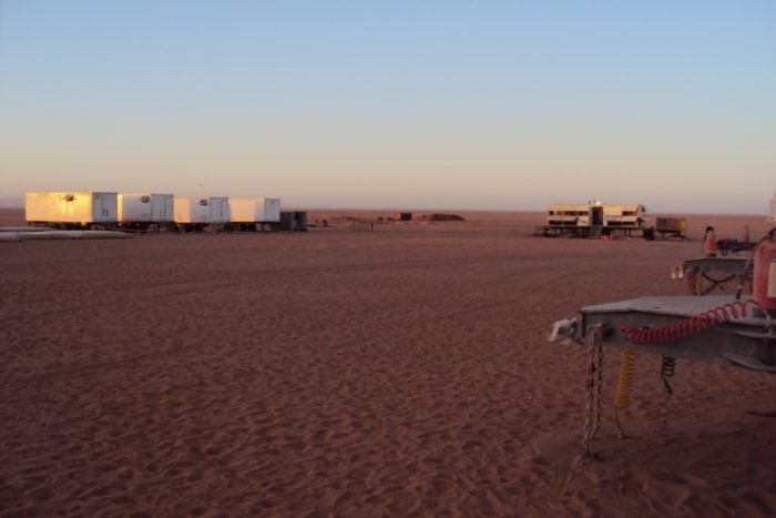 BioReactor 20 foot OT wastewater system in the dessert in Libya -3