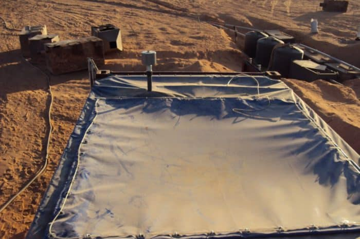 BioReactor 20 foot OT wastewater system in the dessert in Libya -5