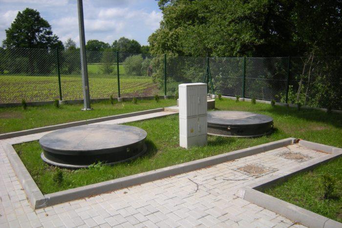 Dual BioKube Mars wastewater system