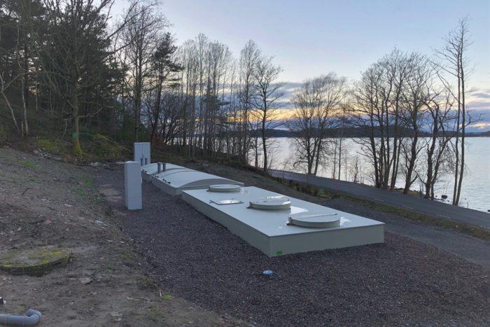 Jupiter 75 Biokube wastewater system Sweden -13