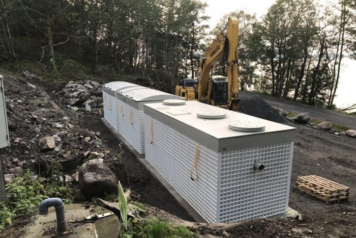 Jupiter 75 Biokube wastewater system Sweden -5