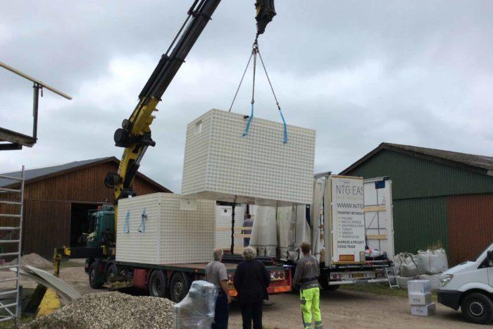 Jupiter wastewater system at Mon Broen Campsite Denmark - 2