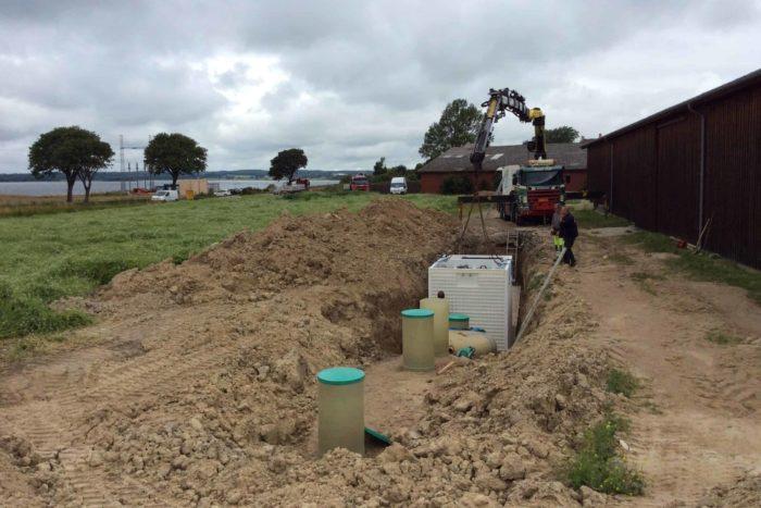 Jupiter wastewater system at Mon Broen Campsite Denmark - 3