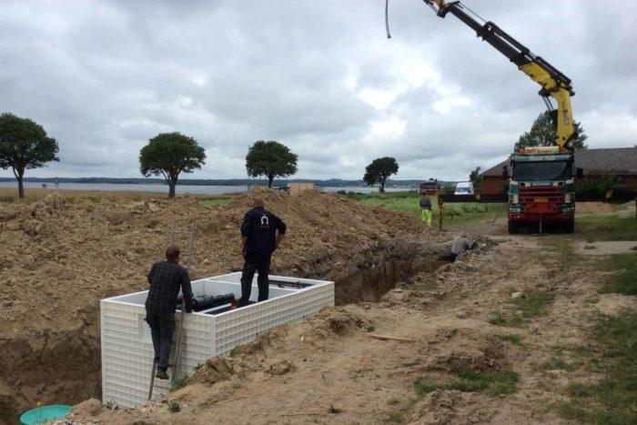 Jupiter wastewater system at Mon Broen Campsite Denmark - 4
