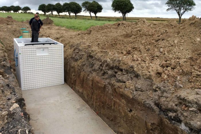 Jupiter wastewater system at Mon Broen Campsite Denmark - 5