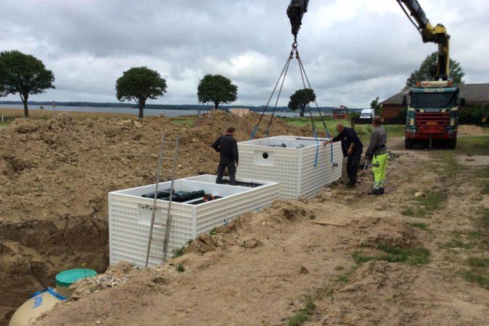Jupiter wastewater system at Mon Broen Campsite Denmark - 6